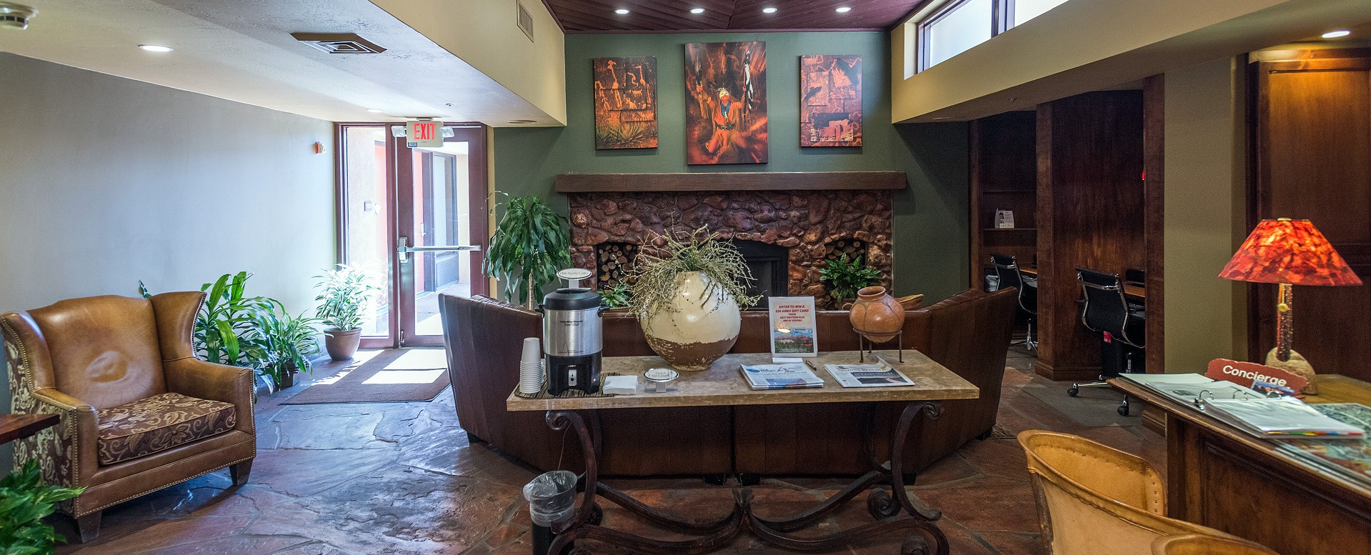 Best Western Plus Inn of Sedona-Lobby